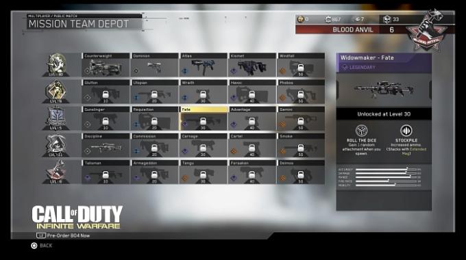 Call of Duty Infinite Warfare Mission Team Depot