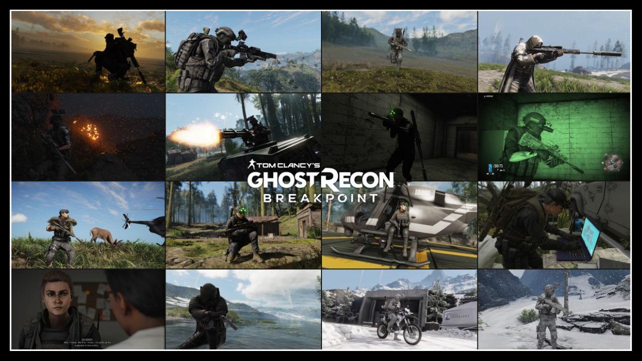 Tom Clancy's Ghost Recon Breakpoint Oyuniçi Görüntüler