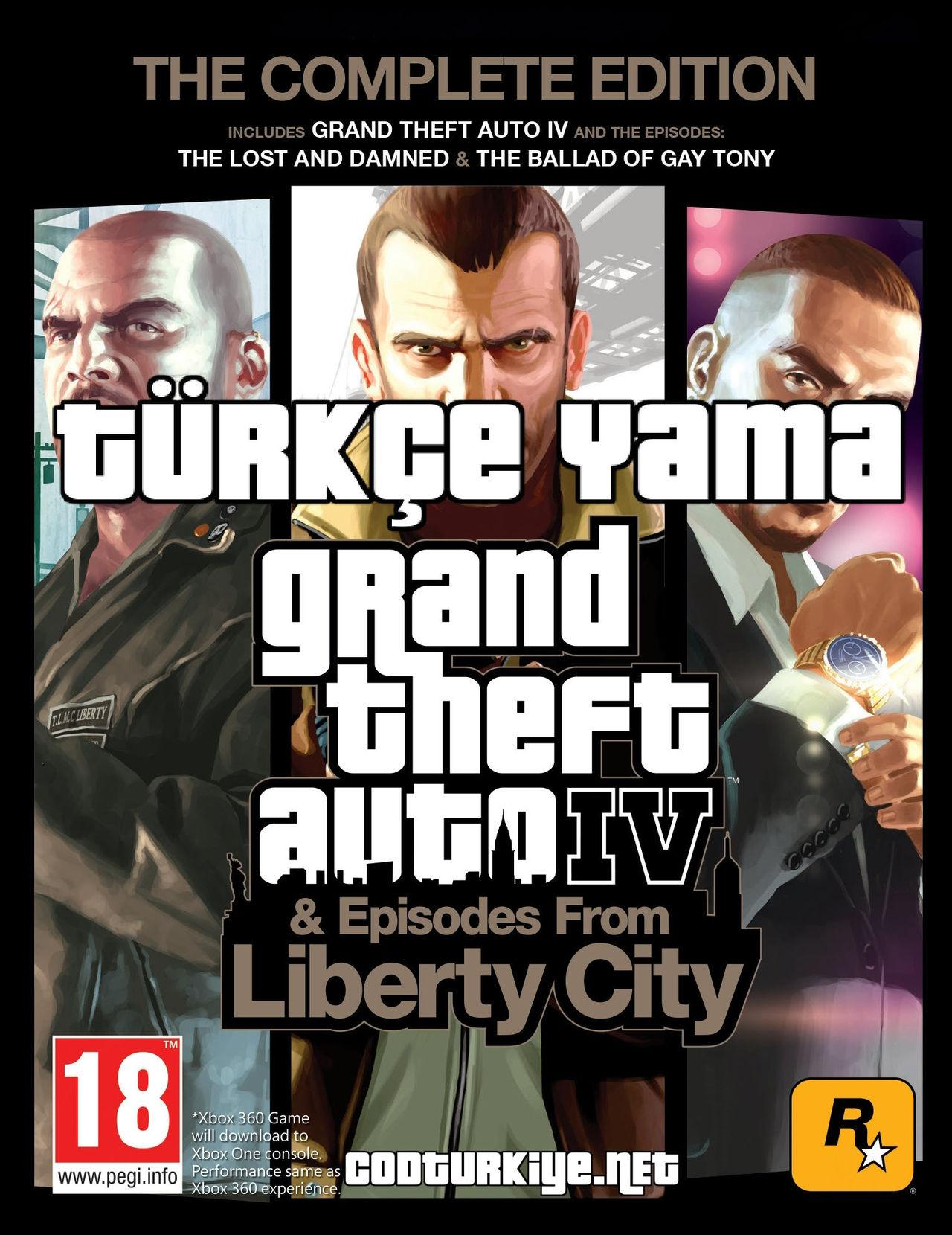 Grand Theft Auto IV: The Complete Edition Türkçe Yama