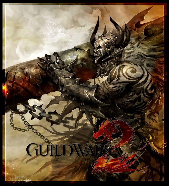 Guild Wars 2 Charr Canoneer