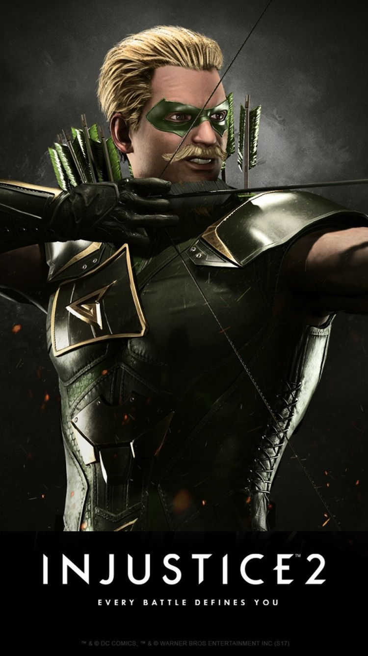 Injustice 2 Karakteri Green Arrow