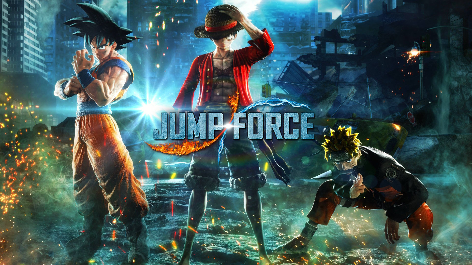 Jump Force Minimum ve Önerilen Sistem Gereksinimleri, Karakterler Listesi