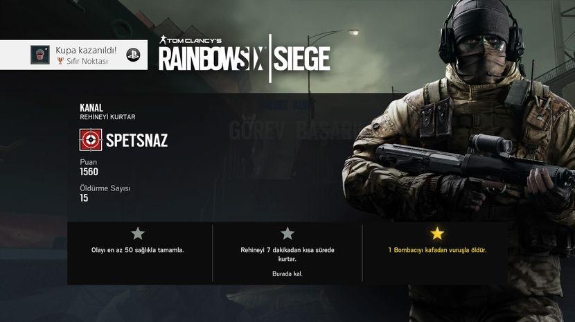 Tom Clancy's Rainbow Six Siege Olaylar Modu