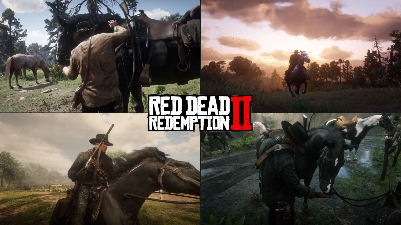 Red Dead Redemption 2 Atlar
