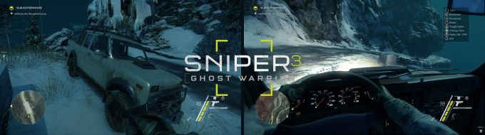 Sniper Ghost Warrior 3 Araçlar