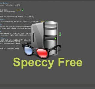 Speccy Free ile Sistem Bilgisini Öğrenmek