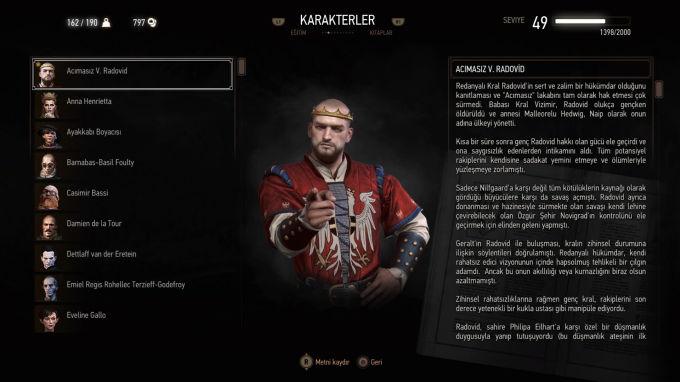 The Witcher 3 Wild Hunt Acımasız Kral Radovid