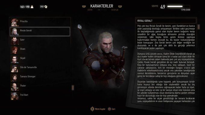 The Witcher 3 Wild Hunt Geralt of Rivia